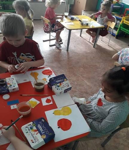 Продуктивная деятельность детей.
